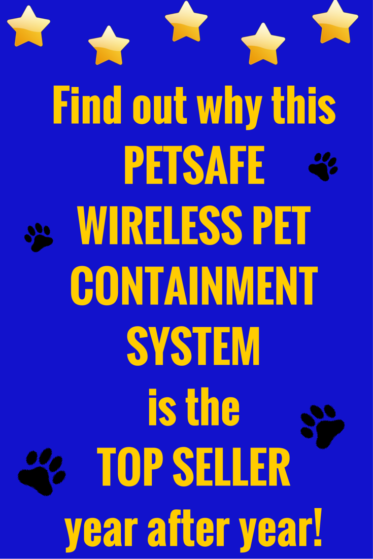PetSafe wireless pet containment system, PIF-300