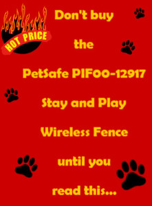 Petsafe Pif00 12917 Stay And Play Wireless Fence Review