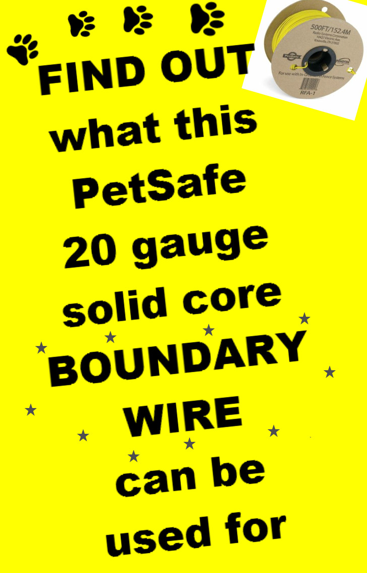boundary wire 20 gauge PetSafe