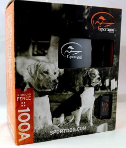 sportdog 100 acre ground pet fence system sdf 100a